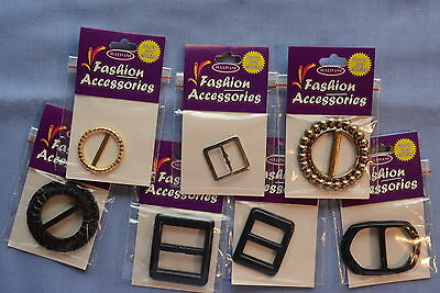 Assorted Buckles #4