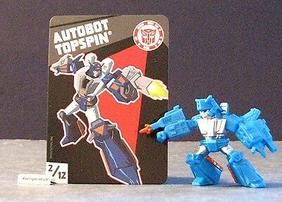 Transformers Tiny Titans Series 2 Robots in Disguise 2/12 Autobot Topspin