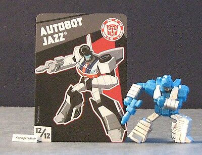 Transformers Tiny Titans Series 2 Robots in Disguise 12/12 Autobot Jazz