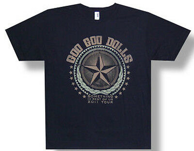 Goo Goo Dolls-Star-Something For The Rest Of Us 2011 Tour-Black  T-shirt