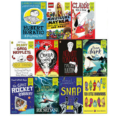 World Book Day 2019 - 12 Books Collection Set Great Rocket Robbery, Everdark NEW