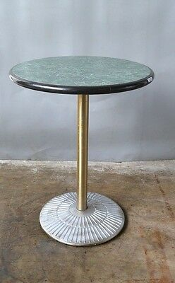 Used 2 Gasser Co. Green Marble design Tables