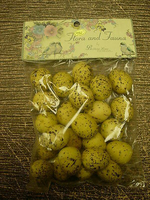 Bethany Lowe Easter Mini Speckled Eggs Pack Of 24 Dark Yellow