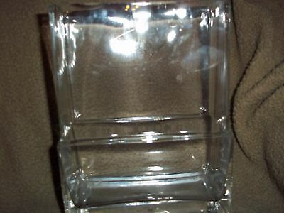 Home Interior Better Homes Gardens Clear Glass Vase EUC
