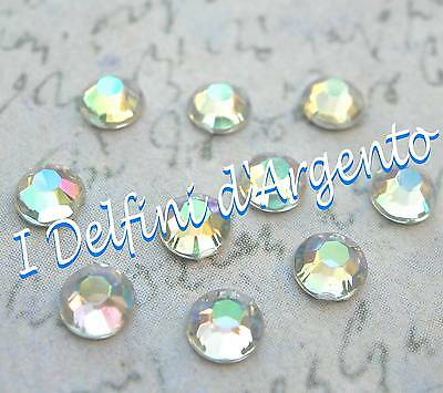 100x Strass decorativi 4mm - colore crystal ab