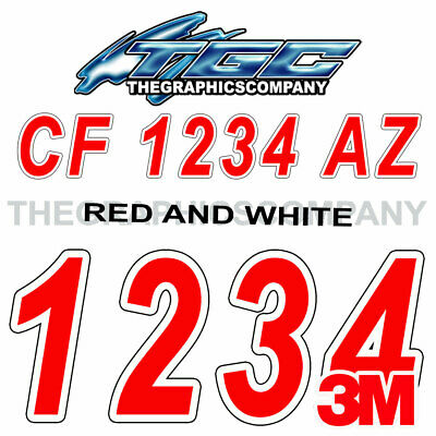 Wetlands Custom Boat Registration Numbers Decals Vinyl Lettering Stickers USCG