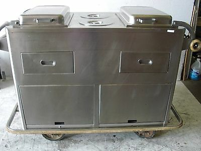 Used Bickman ALS-4922 Catering Cart, Excellent Free Shipping!