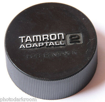 Tamron Adaptall 2 for Pentax K - Deep Plastic Rear Lens Cap - Japan - USED C015