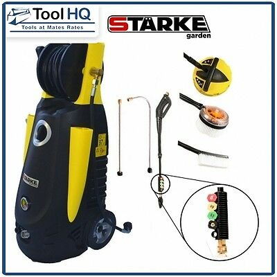 Starke 3500PSI 3200W High Pressure Washer Electric Water Cleaner BONUS Lances