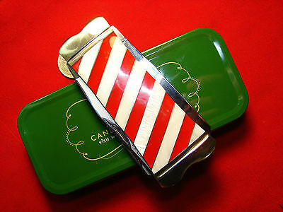 ROUGH RIDER  MERRY CHRISTMAS DOUBLE TAKE TRAPPER CANDY CANE PEARL limited  61304