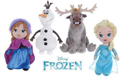 "New Official 12"" Disney Frozen Olaf Sven Trolls Plush Soft Toy Frozen Soft Toys"