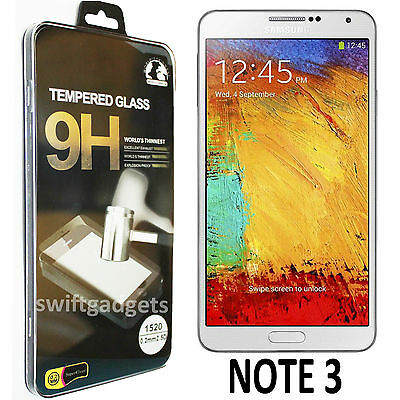 Real Tempered Glass Film Lcd Screen Protector For Samsung Galaxy Note 3