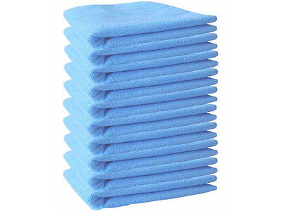 10 Large Microfibre Cleaning Car Polishing Soft Cloths Wash Towel Duster Garden