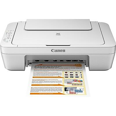 Canon PIXMA MG2520 Inkjet Photo All-in-One Printer Print Copy Scan - New No Ink