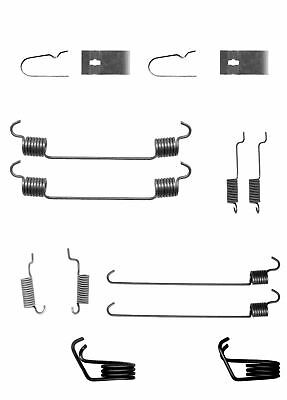 LY1295 Accessory Kit, brake shoes Rear Axle