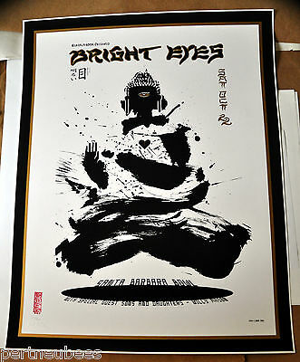EMEK Bright Eyes Print/POSTER Stamped, Embossed & Signed/Numbered #294 of 300