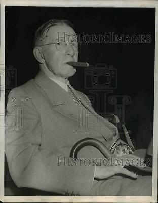 1944 Press Photo Charles G. Dawes, former Vice President of the United States,