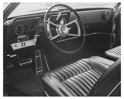 1966 Oldsmobile Toronado Interior Automobile Factory Photo ch7046