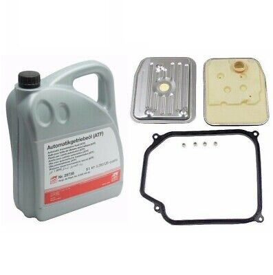 5-Liters For VW Auto Transmission Fluid+Filter Kit Golf 01M398009 G052162A2