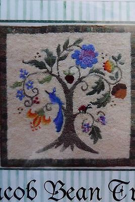 Jacobean Floral Tree Dollhouse Miniature Tapestry or Rug Knotwork Embroidery Kit