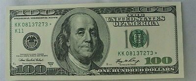 $100 2006 A Series Federal Reserve *Star Note - UNC
