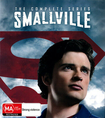SMALLVILLE: THE COMPLETE COLLECTION (SEASONS 1 - 10) (2001) NEW DVD
