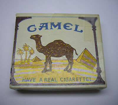 VINTAGE UN-FIRED CAMEL CROWN LIGHTER NOS NEW OLD STOCK IN BOX MADE IN JAPAN