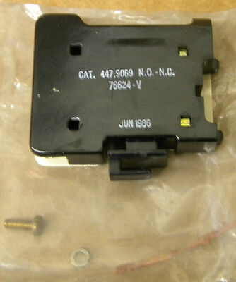 RELIANCE 76624-V AUXILIARY CONTACT NEW 76624V