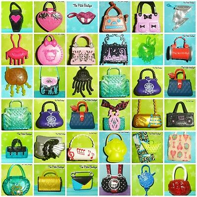Monster High Doll Replacement Purses Bag Draculaura Cleo Frankie Lagoona & More