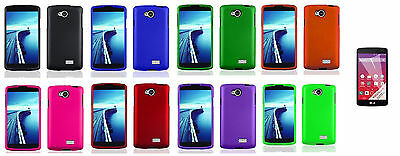 For LG Optimus F60 MS395 D390 D392 D390N D932 Hard Case Cover + Film Protector