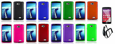 CC+LCD+ Faceplate Case Cover Accessory For LG Optimus F60 MS395 D390 D392 D390N