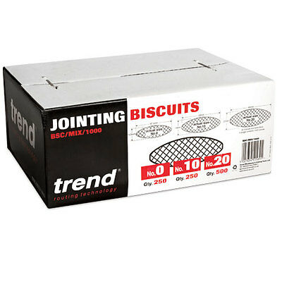 TREND BSC/MIX/1000 Biscuits Mixed Sizes (Box of 1000)