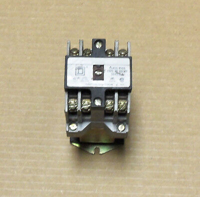 Square D 8501XD040 Control Relay 8501 XD0 40 24VDC Coil