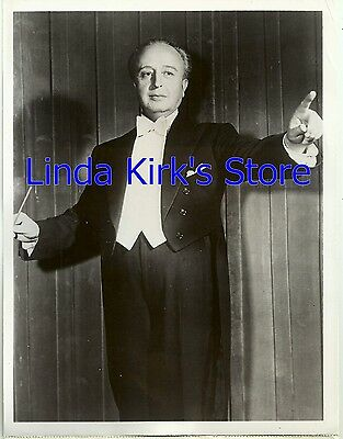 "Howard Barlow Promotional Photograph Conductor ""Voice Of Firestone"" ABC-TV"