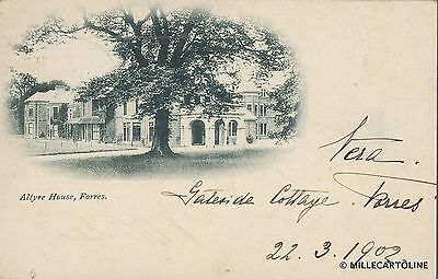 SCOTLAND - Forres - Altyre House 1902