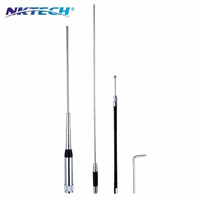 NKTECH NK-9900 Quad-Band 150W Stainless Antenna 29.6/50.5/144/435MHz TYT TH-9800