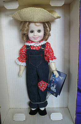 """Ideal Doll Collection Shirley Temple """" Rebecca of Sunnybrook Farm """" 12"""" Tall"""