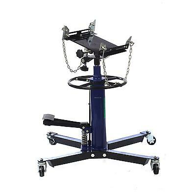 Hydraulic Transmission Jack Stand Lifter Hoist 0.5 Ton 500kg 2 Stage Capacity