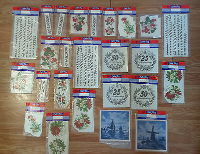 Lot of 25 New in Package * Color Brite * Decals *