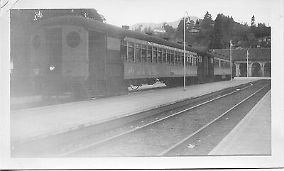 T538 RP 1940 NORTHWESTERN PACIFIC RAILROAD TRAIN CAR #252