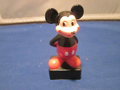 Vintage Mickey Mouse Pencil Sharpener WALT DISNEY PRODUCTIONS MADE IN HONG KONG