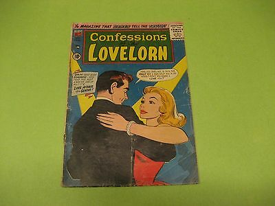 VINTAGE SILVER AGE SEPT. 1957 CONFESSIONS OF THE LOVELORN COMIC BOOK /A.C.G. #85