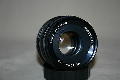 YASHICA ML 50mm 1:1.9 PRIME LENS YASHICA / CONTAX NEAR MINT EOS M4/3 4/3 41214