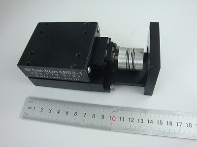 Del-Tron LRS3-1 Linear Stage Axis Actuator with Coupling for Z Axis mini CNC