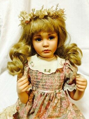 Georgetown Collections Jessica By Pamela Phillips Porcelain Doll