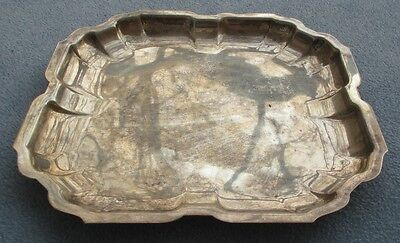 International Sterling Silver Large Square Serving Tray  487g