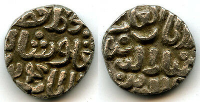 Silver 4-ghani of Ghiyath al-din Tughluq (1320-1325), dated to 1324 AD, India