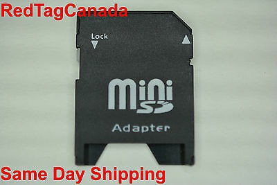 MiniSD Card to SD Memory Card Adapter Canada Fast Shipping