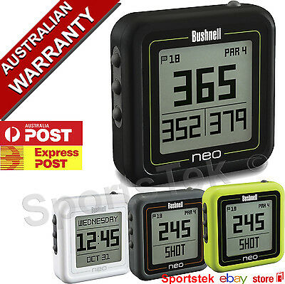 NEW BUSHNELL NEO GHOST Golf GPS 33 000 Courses preloaded