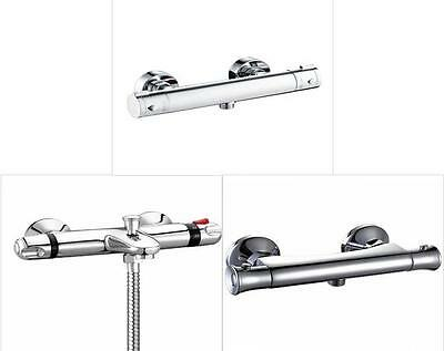 Thermostatic Round Bar Bathroom Shower Valve Bar Mixer